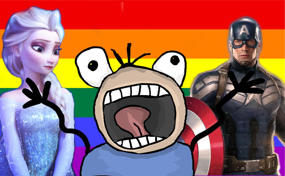 Angst vor einer lesbischen Disney Eiskönigin
