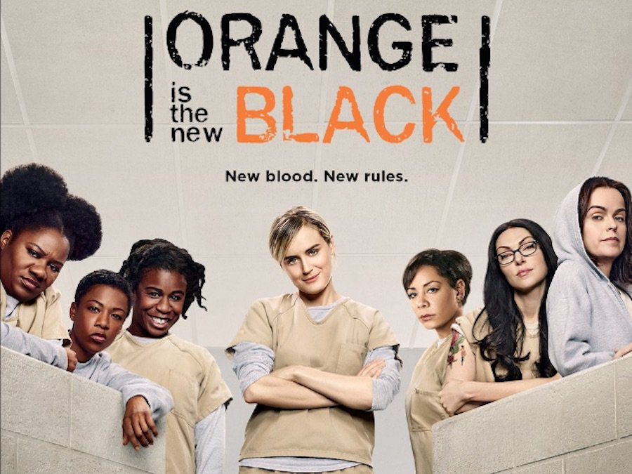 "Promobild der 4. Staffel von ""Orange is the New Black"" auf Netflix"