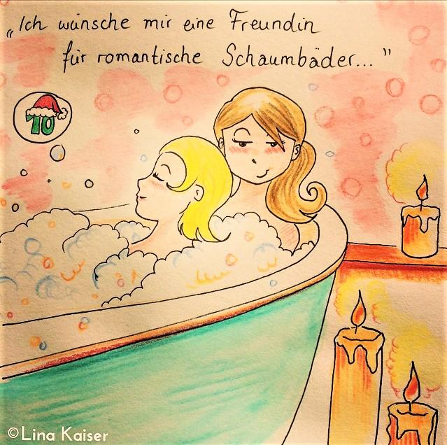Lesbischer Adventskalender 2016 von Lina Kaiser 10. Dezember