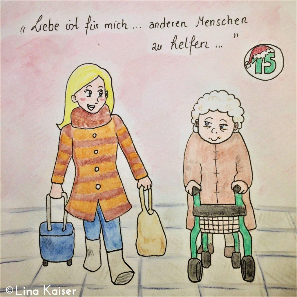Lesbischer Adventskalender 2016 von Lina Kaiser 15. Dezember