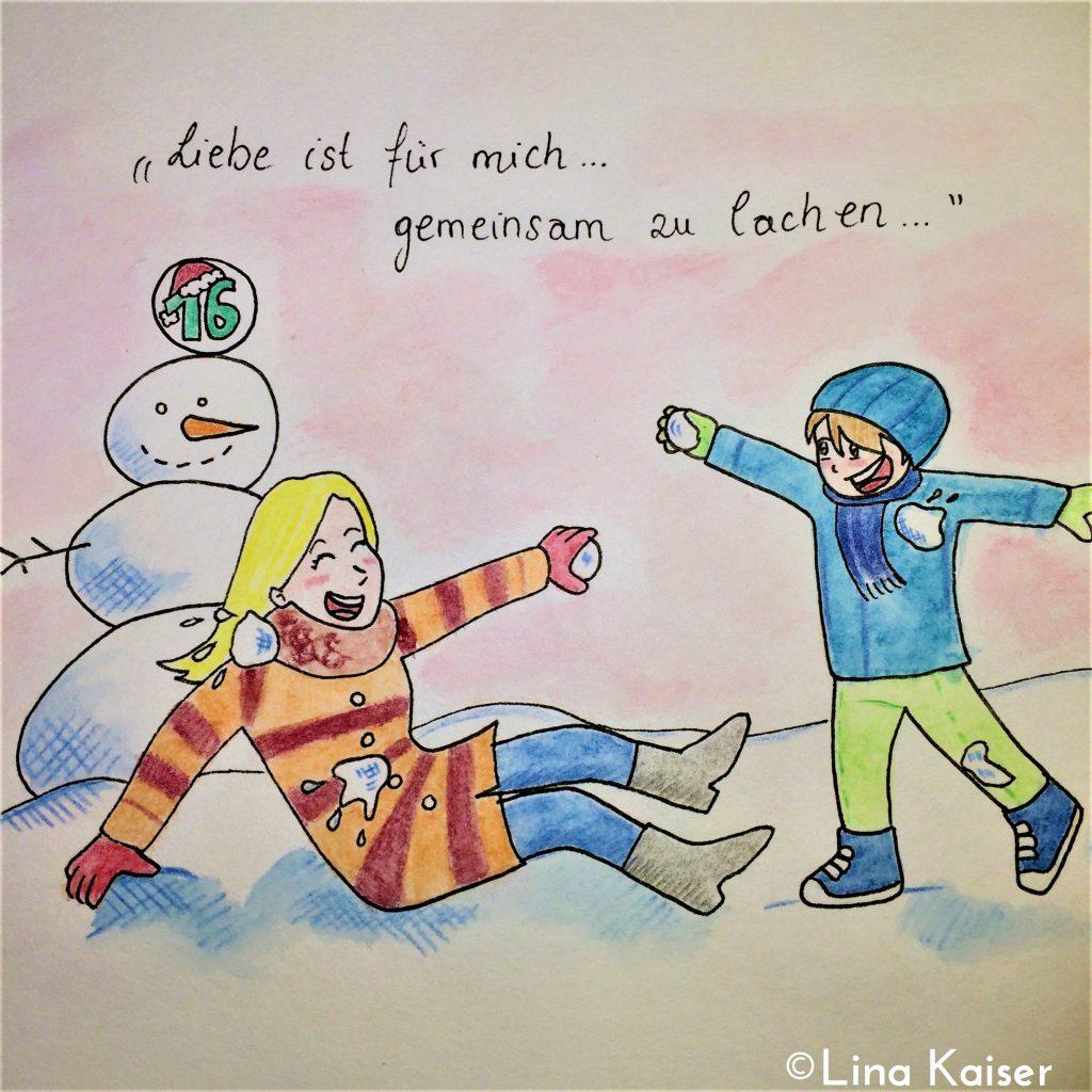 Lesbischer Adventskalender 2016 von Lina Kaiser 16. Dezember