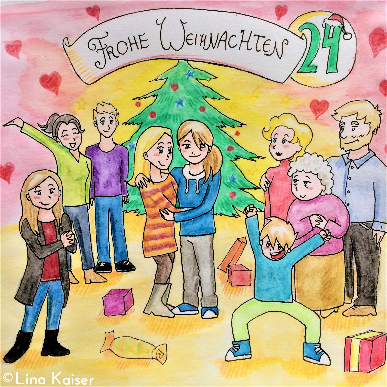 Lesbischer Adventskalender 2016 24. Dezember