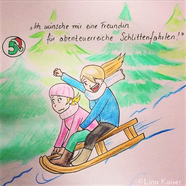Lesbischer Adventskalender 2016 von Lina Kaiser 5. Dezember