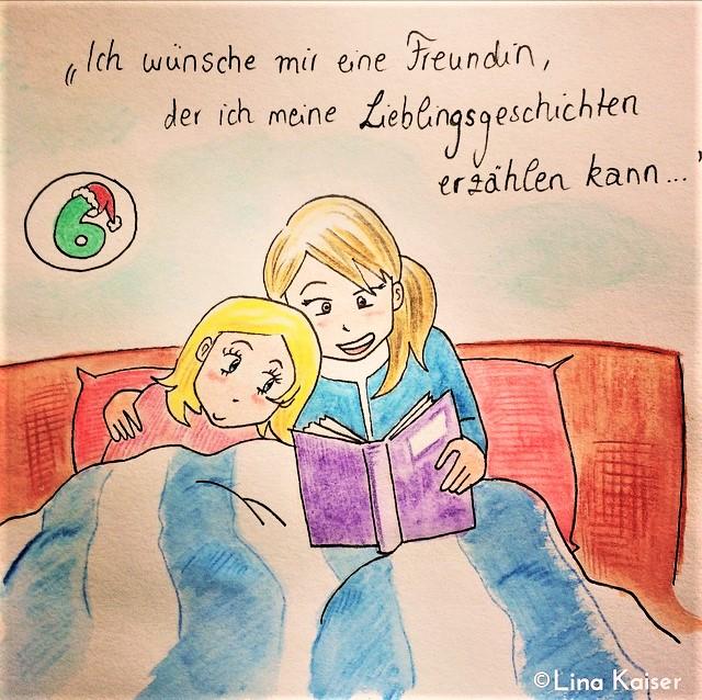 Lesbischer Adventskalender 2016 von Lina Kaiser 6. Dezember