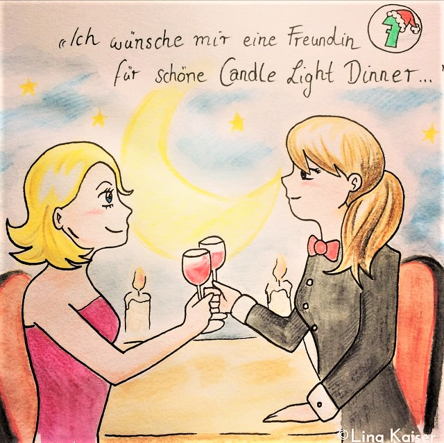Lesbischer Adventskalender 2016 von Lina Kaiser 7. Dezember