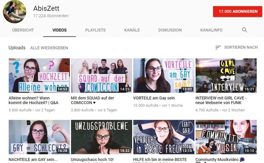 AbisZett YouTube Kanal