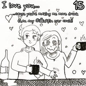 Lesbischer Adventskalender 2018 15. Dezember