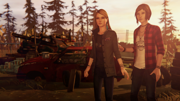 "Rachel und Chloe in ""Life is Strange: Before the Storm -Episode 3"""