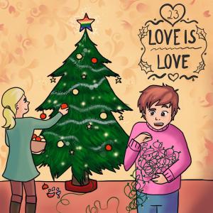 LGBT Adventskalender 2018 Lina Kaiser frauverliebt 23