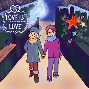 LGBT Adventskalender 2018 Lina Kaiser frauverliebt 15