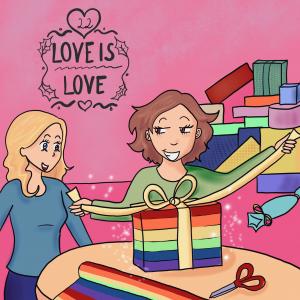 LGBT Adventskalender 2018 Lina Kaiser frauverliebt 22