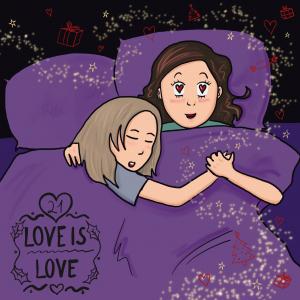 LGBT Adventskalender 2018 Lina Kaiser frauverliebt 21