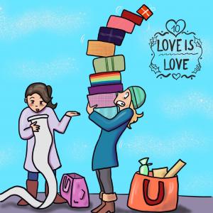 LGBT Adventskalender 2018 Lina Kaiser frauverliebt 10