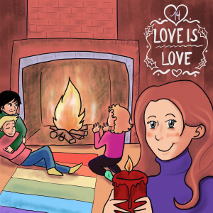 LGBT Adventskalender 2018 Lina Kaiser frauverliebt 14