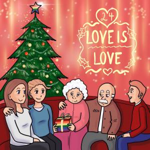 LGBT Adventskalender 2018 Lina Kaiser frauverliebt 24