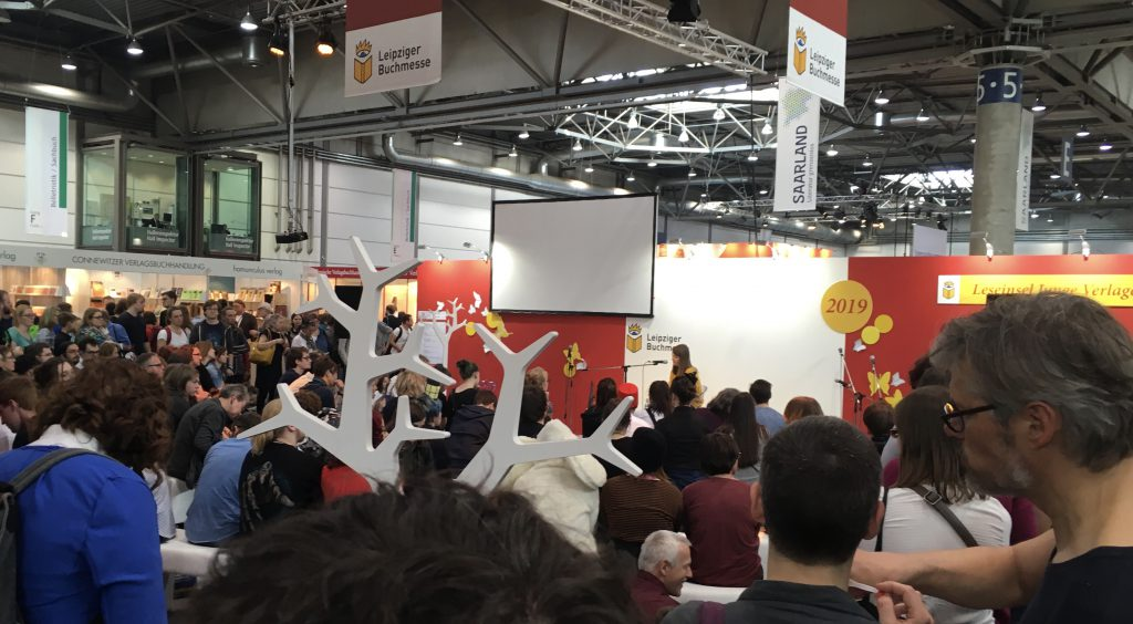 """Lina Kaiser """"Indy"""" Leipziger Buchmesse Lesung"""