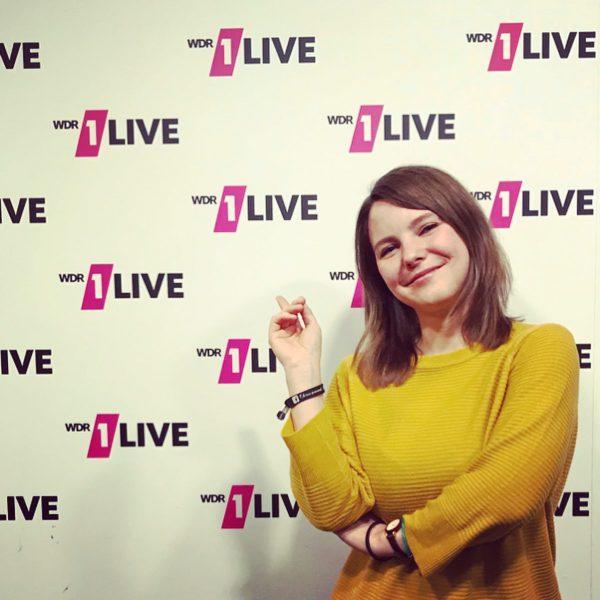 Lina Kaiser zum Thema Comimg-out zu Gast bei 1live